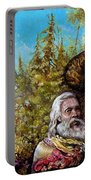 The Dauphin And Captain Nemo Discovering Bogomils Island Portable Battery Charger