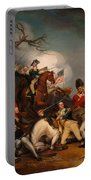 The Death Of General Mercer At The Bottle Of Princeton Portable Battery Charger