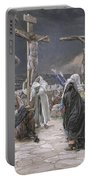 The Death Of Jesus Portable Battery Charger by Tissot