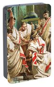 The Death Of Julius Caesar  Portable Battery Charger
