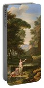 The Death Of Narcissus Portable Battery Charger