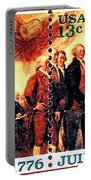 The Declaration Of Independence  Portable Battery Charger by Lanjee Chee