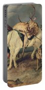 The Deerstalkers Return Portable Battery Charger by Sir Edwin Landseer