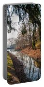 The Delaware Canal In New Hope Pa Portable Battery Charger