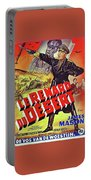 The Desert Fox  James Mason Theatrical Poster Number 2 1951 Color Added 2016 Portable Battery Charger