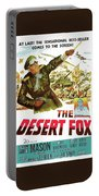 The Desert Fox  James Mason Theatrical Poster Number 3 1951 Color Added 2016 Portable Battery Charger