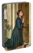 The Devout Childhood Of Saint Elizabeth Of Hungary, 1852 Portable Battery Charger