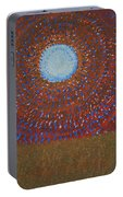 The Difficulty Of Crossing A Field Original Painting Portable Battery Charger