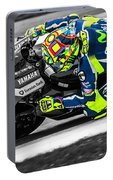 The Doctor At Assen Portable Battery Charger