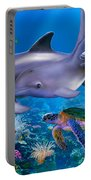 The Dolphin Family Portable Battery Charger