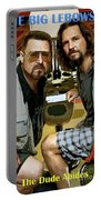 The Dude Abides, The Big Lebowski Portable Battery Charger