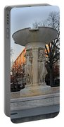 The Dupont Circle Fountain Without Water Portable Battery Charger