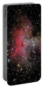 The Eagle Nebula And The Stellar Spire Portable Battery Charger