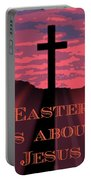 The Easter Cross Portable Battery Charger