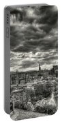 The Edinburgh Skyline, And Dugald Stewart Monument. Portable Battery Charger