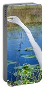 The Egret And The Dragonfly Portable Battery Charger
