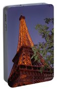 The Eiffel Tower Aglow Portable Battery Charger