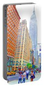 The Empire State Building 3 Portable Battery Charger