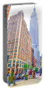 The Empire State Building 5 Portable Battery Charger