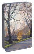 The End Of Fall At Three Sisters Islands Portable Battery Charger