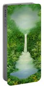 The Everlasting Rain Forest Portable Battery Charger by Hannibal Mane