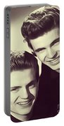 The Everly Brothers Portable Battery Charger