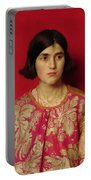 The Exile - Heavy Is The Price I Paid For Love Portable Battery Charger by Thomas Cooper Gotch