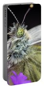 The Eye Of The Green-veined Butterfly. Portable Battery Charger