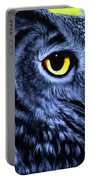 The Eye Of The Owl -the  Goobe Series Portable Battery Charger