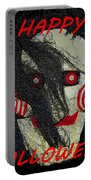 The Face Halloween Card Portable Battery Charger