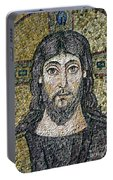 The Face Of Christ Portable Battery Charger