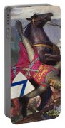 The Fall Of William The Conqueror Portable Battery Charger