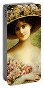 The Fancy Bonnet Portable Battery Charger by Emile Vernon