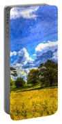 The Farm Art Portable Battery Charger