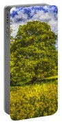 The Farm Tree Art Portable Battery Charger