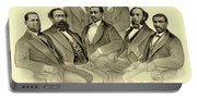 The First African American Senator And Representatives Portable Battery Charger