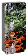 The Fish Pond At Thailand Portable Battery Charger