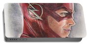 The Flash / Grant Gustin Portable Battery Charger