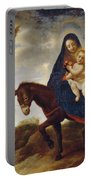 The Flight Into Egypt Portable Battery Charger by Carlo Dolci