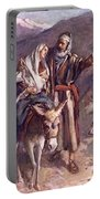 The Flight Into The Egypt Portable Battery Charger