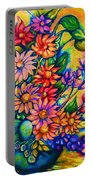 The Flower Dance Portable Battery Charger