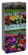 The Flower Field Portable Battery Charger