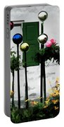 The Flowers And The Balls Portable Battery Charger