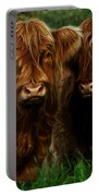 The Fluffy Cows Portable Battery Charger