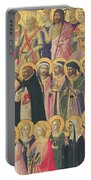 The Forerunners Of Christ With Saints And Martyrs Portable Battery Charger