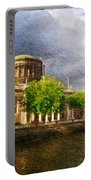 The Four Courts In Reconstruction 2 Portable Battery Charger