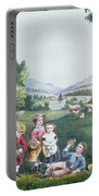 The Four Seasons Of Life Childhood Portable Battery Charger