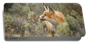 The Fox And Its Prey Portable Battery Charger
