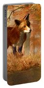 The Fox And The Turtle Portable Battery Charger