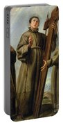 The Franciscan Martyrs In Japan Portable Battery Charger by Don Juan Carreno de Miranda